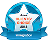 Avvo Clients' Choice 2013 Immigration
